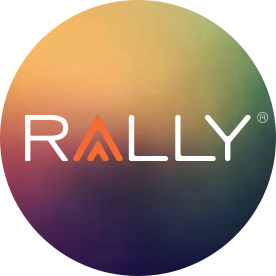Rally will support and inspire you with helpful tips and advice chosen specifically for you.